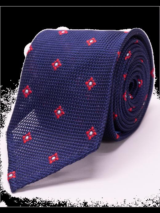 Seize sur Vingt Red Graphic Tie