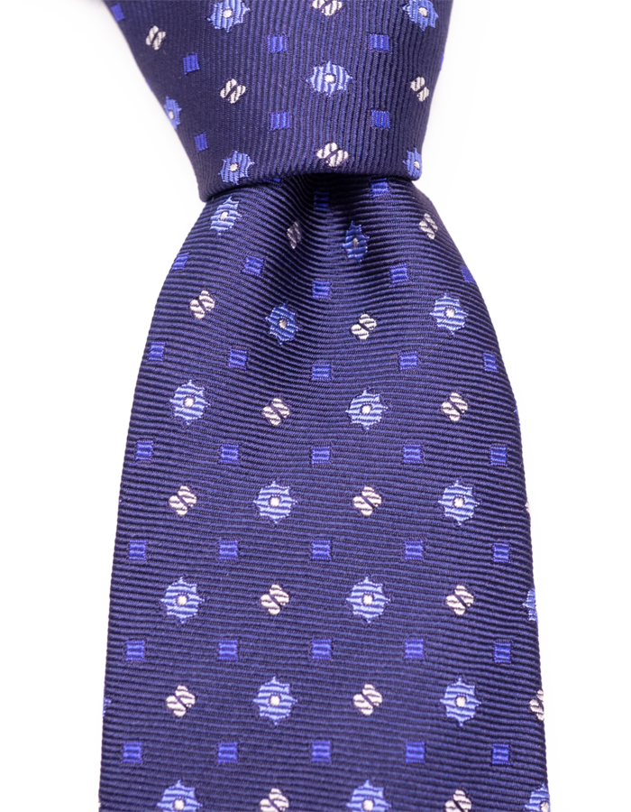Seize sur Vingt TIE lt blue/navy/white graphic on navy 01032