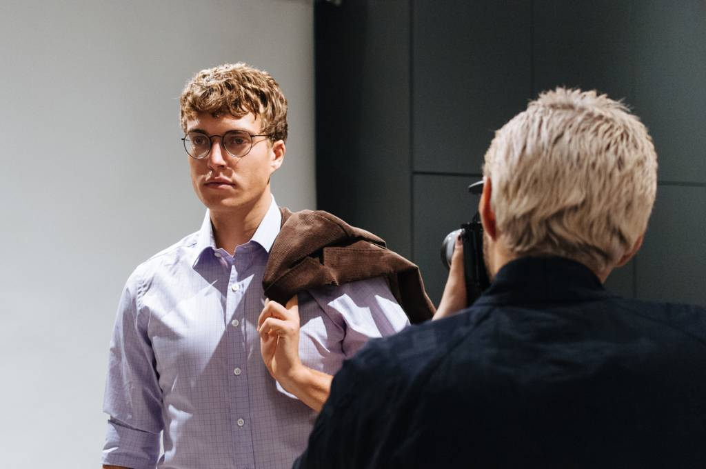 Behind the Scenes on our FW17 Lookbook Shoot