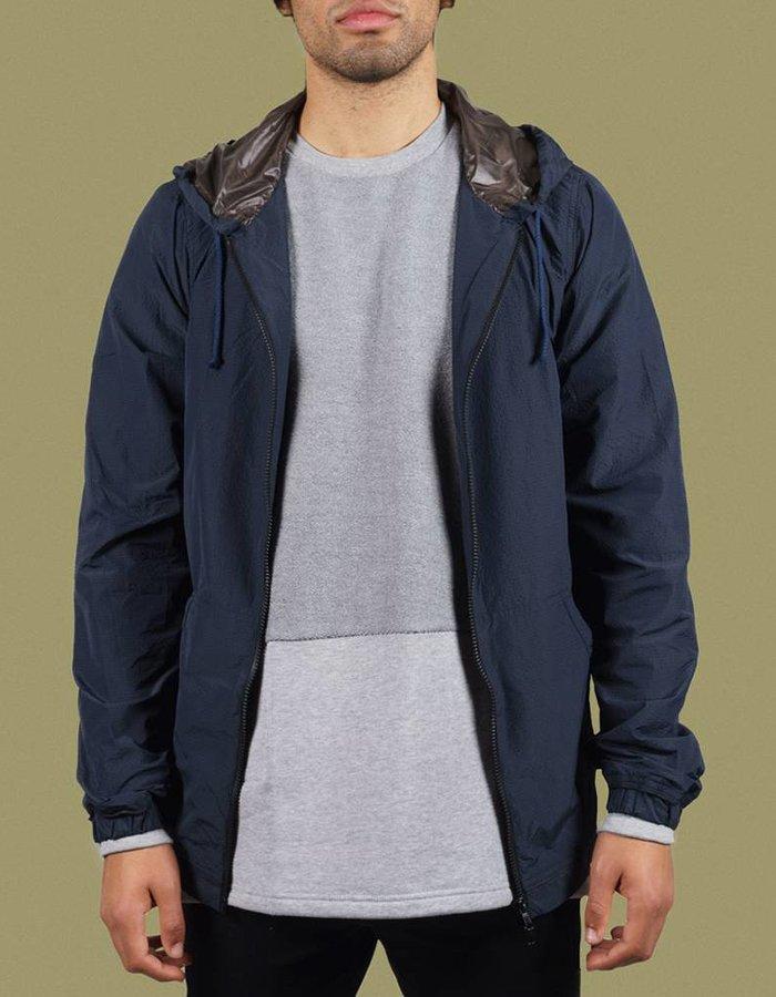 United Boroughs Tetsuo Jacket navy seersucker