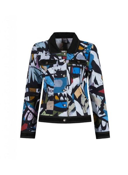 """Dolcezza """"Geometrie Variable"""" Button Down Jacket"""