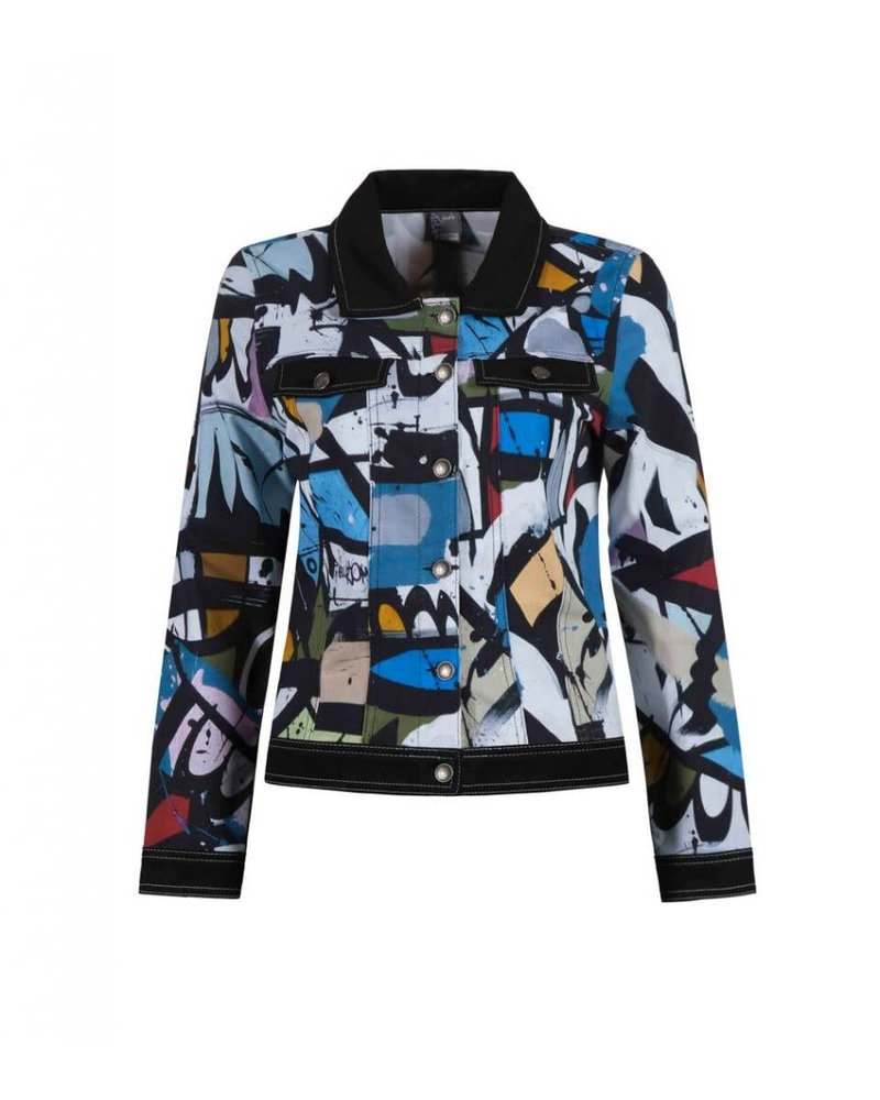 "Dolcezza ""Geometrie Variable"" Button Down Jacket"