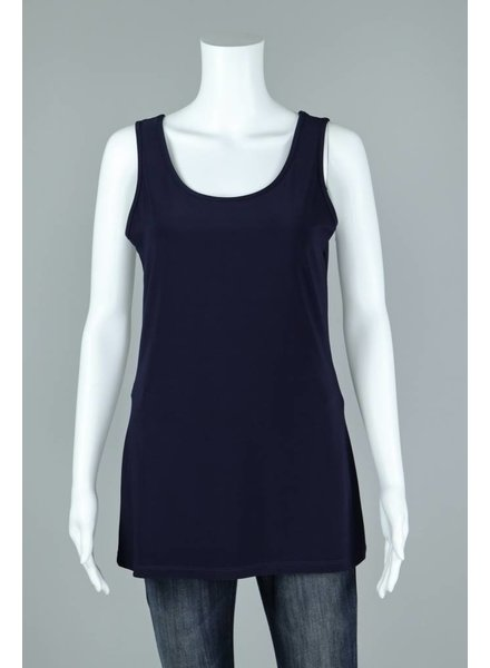 Compli K Navy Knit Tank Top