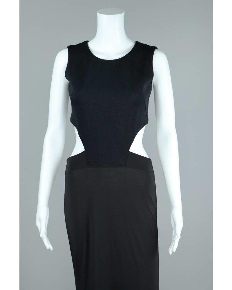 19/91 Open Lower Back Taylor Dress