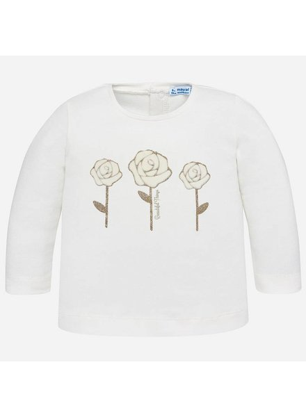 Mayoral 3 Gold Rose Long Sleeve Shirt