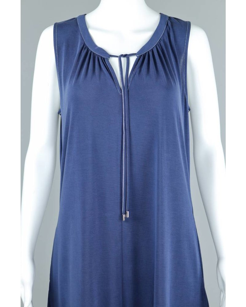 Alison Sheri French Sleeveless Knit Dress