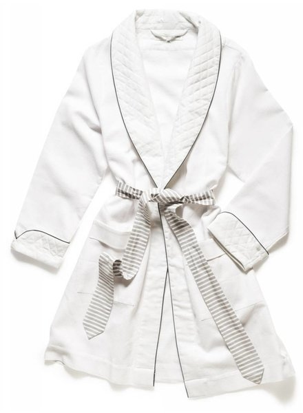 Claridge + King Smoking Jacket Robe