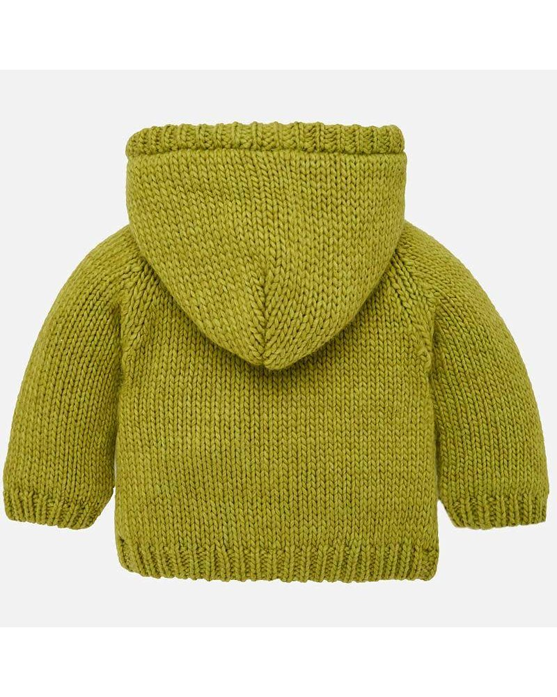 Mayoral Kale Cardigan With Toggle Fasteners