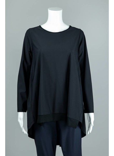 Comfy USA Jason Pleated Chanel Tunic