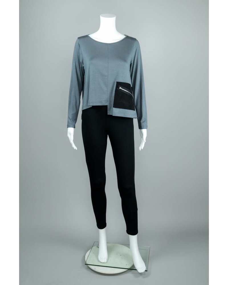 Comfy USA Joy Topper With Front Zip Pocket