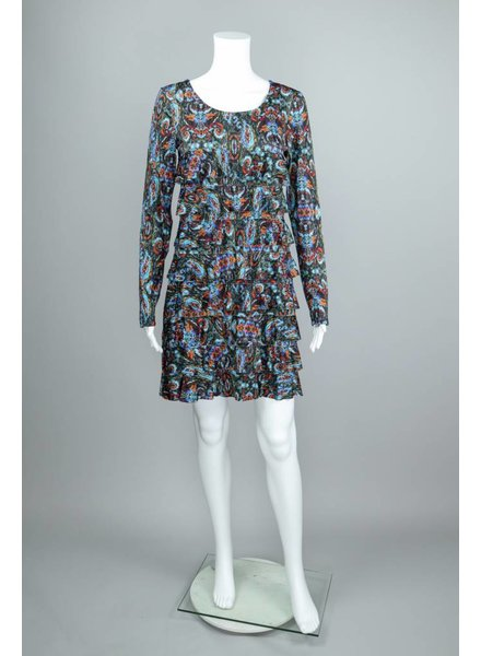 Isle Apparel San Jose Long Sleeve Cha Cha Dress
