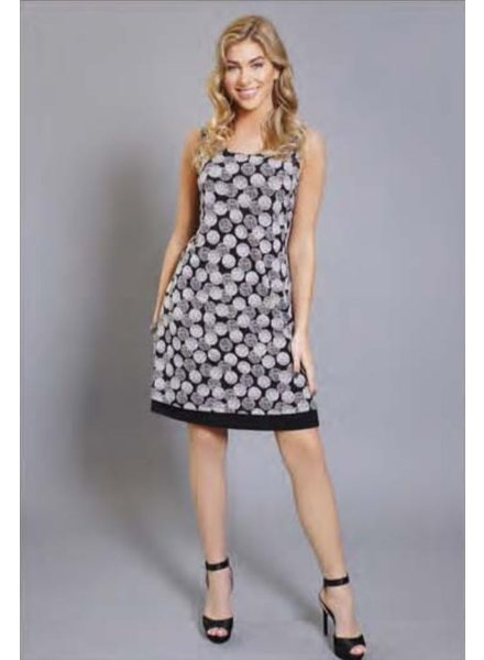Compli K Sleeveless Dot Reversible Dress
