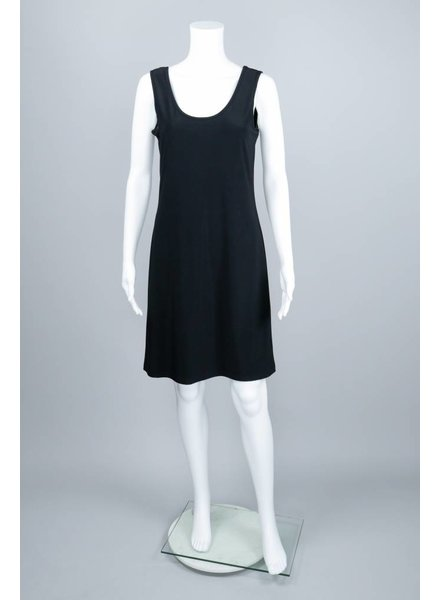 Compli K Black Tank Slip Dress