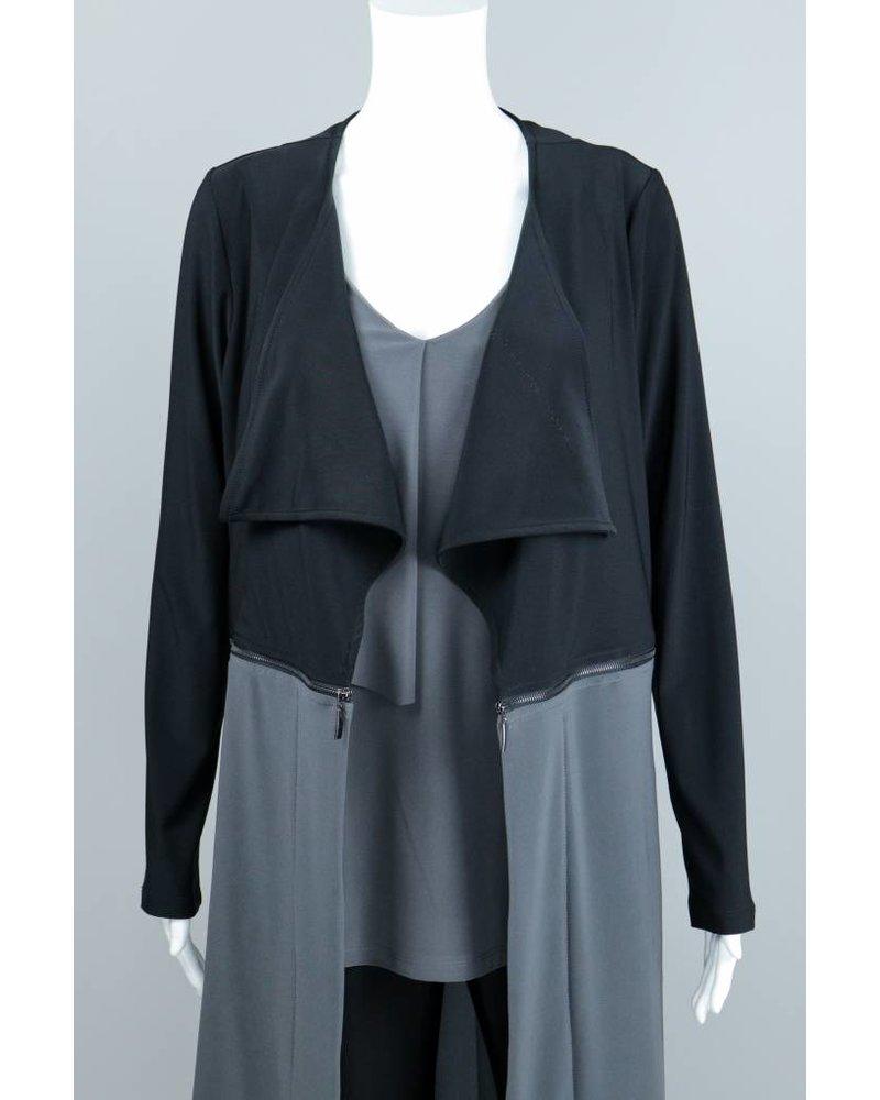 Compli K Charcoal Zipper Jacket