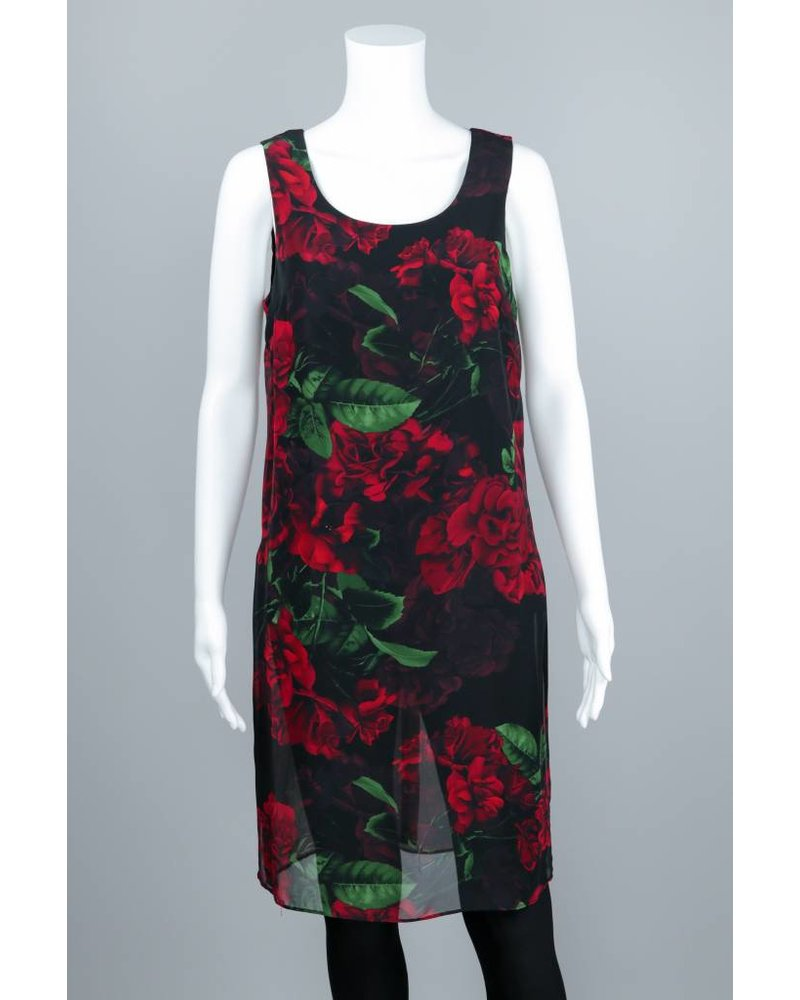 Compli K Double Layered Floral Top