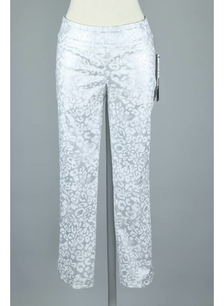 UP! Silver/White Lea Petal Pant