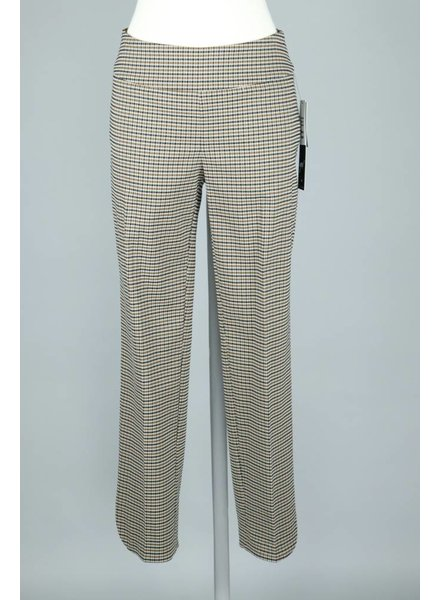 UP! Brit Plaid Petal Slit Pant
