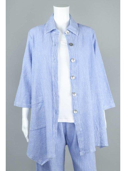 Et'Lois Pebble Button Front Jacket