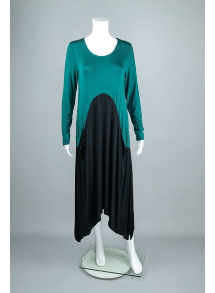 Et'Lois Tatum Long Sleeve Dress With Pockets
