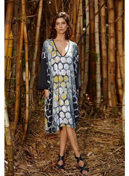 Alembika 3/4 Sleeve Hive Dress