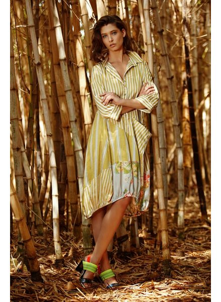 Alembika Amber Button Up Dress