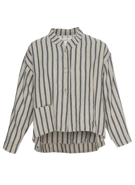 Luukaa Angel Beige & Navy Stripe Jacket