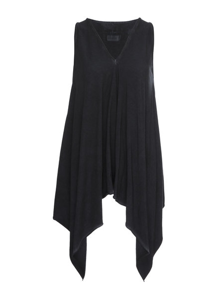 Luukaa Angel Navy Sleeveless Cotton Tunic