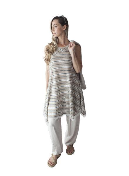 Luukaa Melanie Knit Stripe Tunic