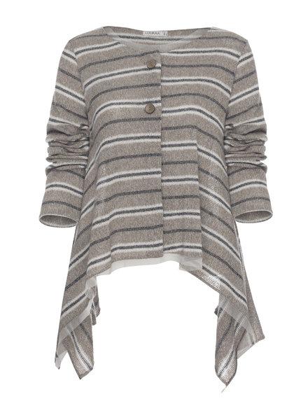 Luukaa Melanie Knit Stripe Cardigan