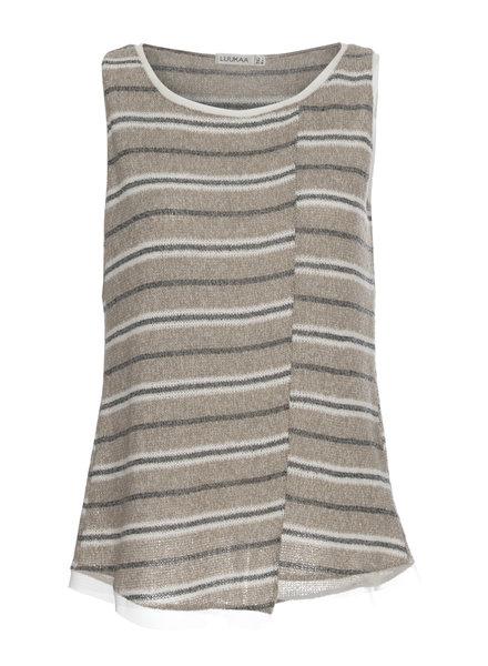 Luukaa Melanie Knit Stripe Tank
