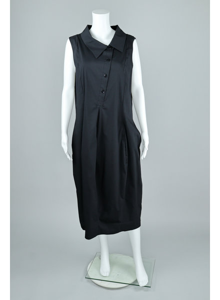 Luukaa Nikki Asymmetrical Button Dress