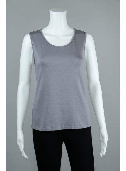 Comfy USA Grey Wide Strap Tank