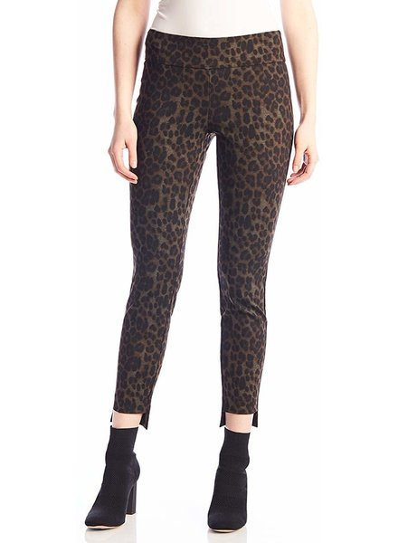 UP! Leo Step Hem Leopard Pant