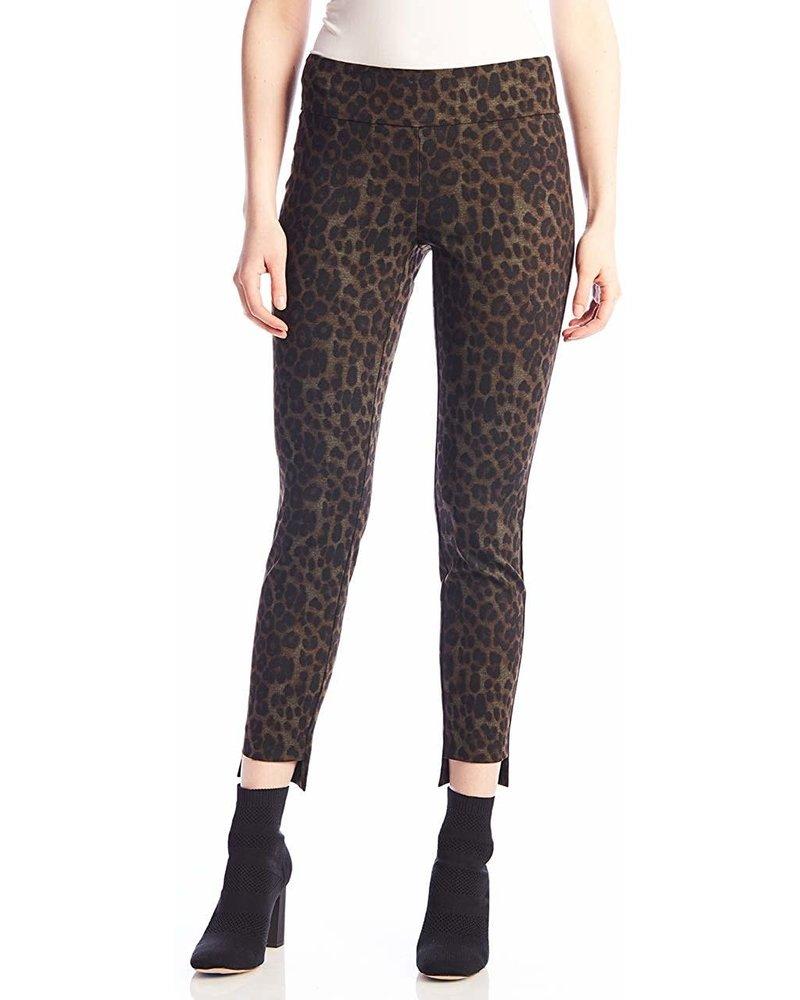 UP! Leo Step Hem Leopard Pant