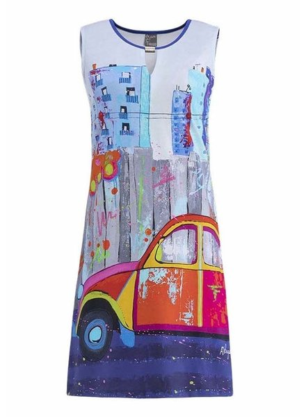 Dolcezza Brin De Nostalgie Sleeveless Keyhole Dress