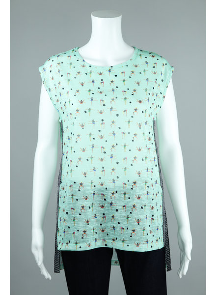 Aldo Martin Mint Egeo Gym Girl Top