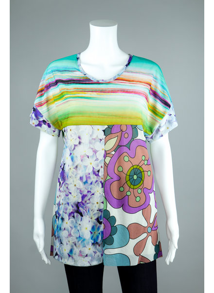 Petit Pois Aurora Boxy Tee Shirt