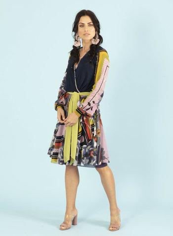 Petit Pois Scarf Dress