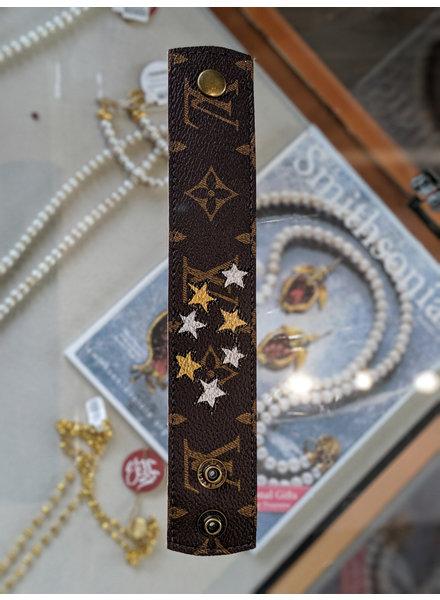 Suzy T Louis Vuitton Stars Snap Bracelet