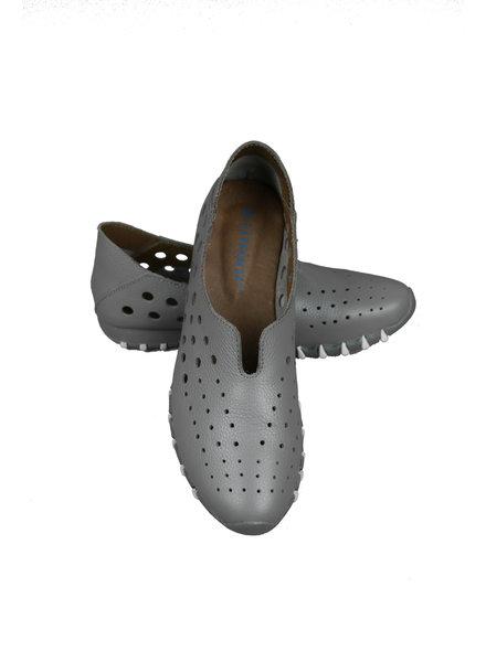 LitFoot Grey Slip On Travel Sneaker