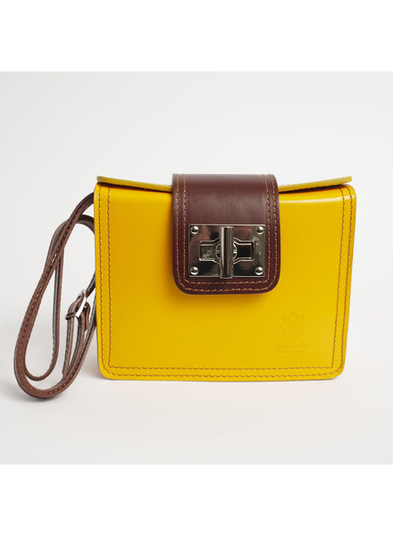 Solo Perche Bags Yellow Siena Cross Body