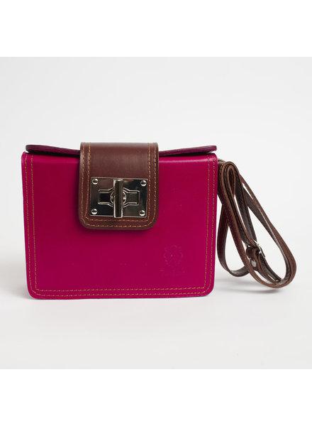 Solo Perche Bags Pink Siena Cross Body
