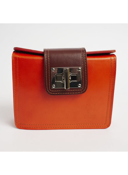 Solo Perche Bags Orange Siena Cross Body