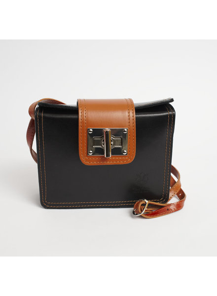 Solo Perche Bags Black Siena Cross Body