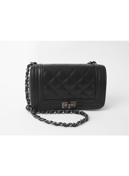 Solo Perche Bags Black Cento Cross Body