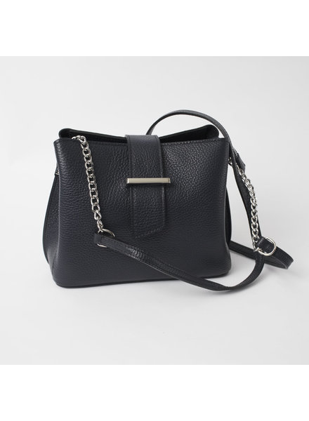 Solo Perche Bags Navy Ferrara Cross Body