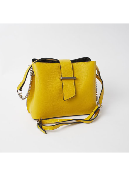 Solo Perche Bags Yellow Ferrara Cross Body