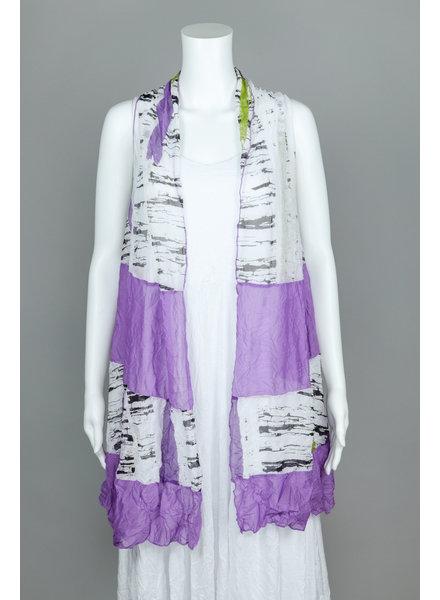Comfy USA Multi-Violet Andrea Vest