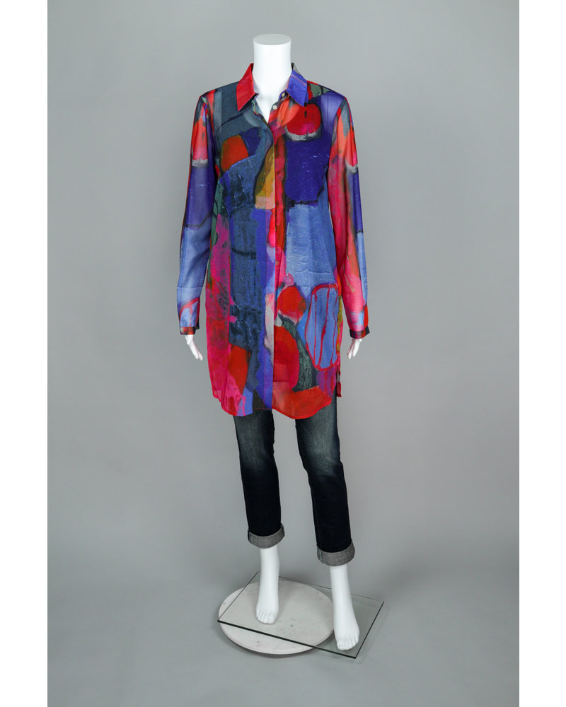 "Claire Desjardins ""Untitled One"" Woven Blouse"