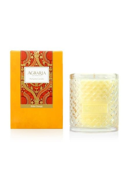 Agraria Home Bitter Orange Woven Crystal Candle